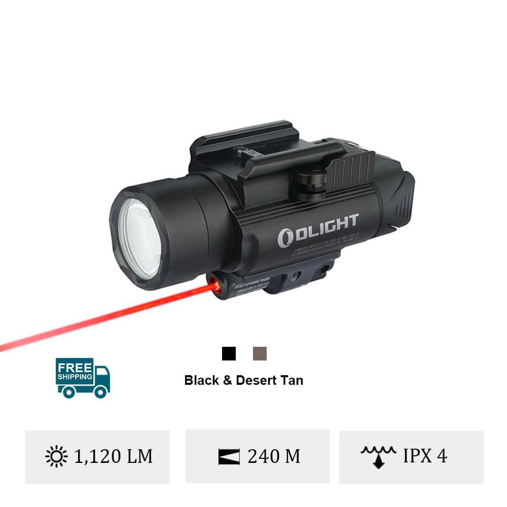 Olight Baldr RL 1120 Lumens Red laser Light