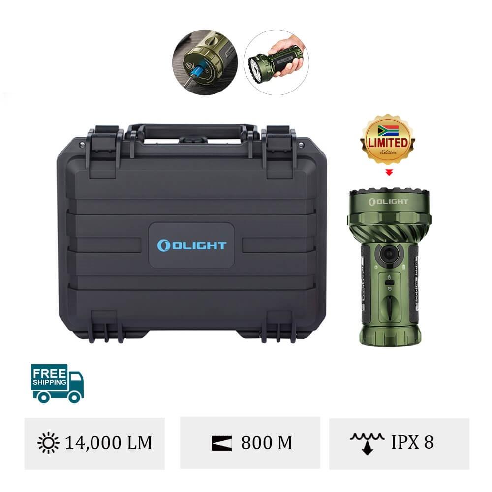 Olight Marauder 2 OD Green Powerful Flashlight
