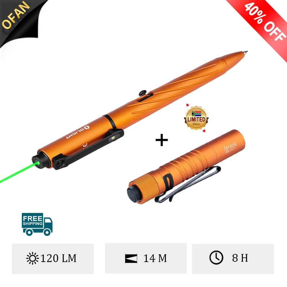 Olight Open Pro Orange Bundle I3T Orange