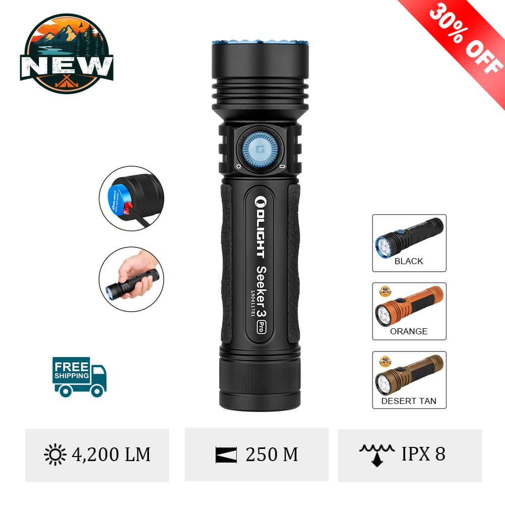Olight Seeker 3 Pro 4200 Lumens Flashlight