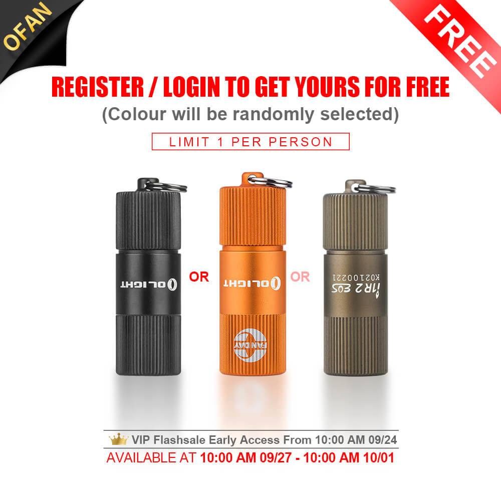 Olight Free Gift i1R 2 EOS Keychain Light