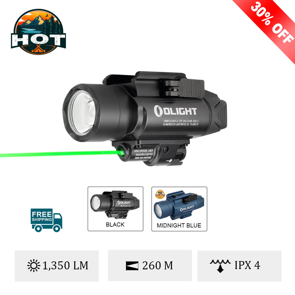 Olight Baldr Pro Green Laser Weapon Light