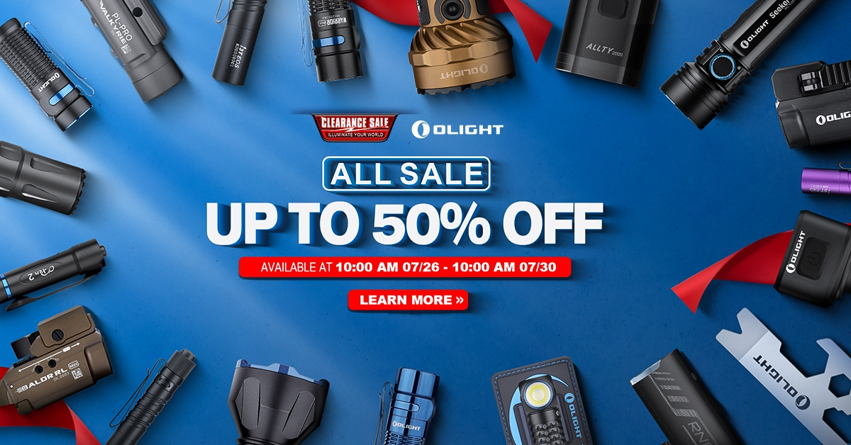 Clearance Sale is Finally Here!