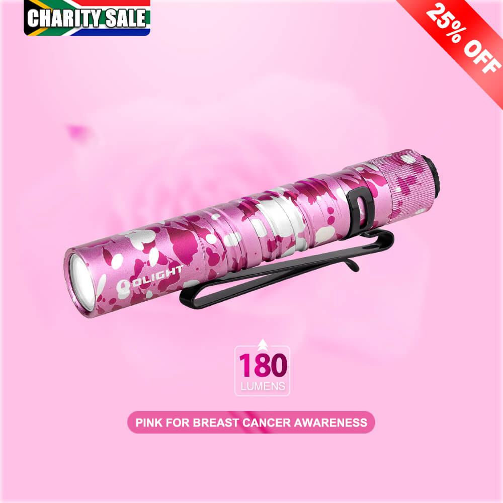 Olight I3T Pink Camouflage EDC Light