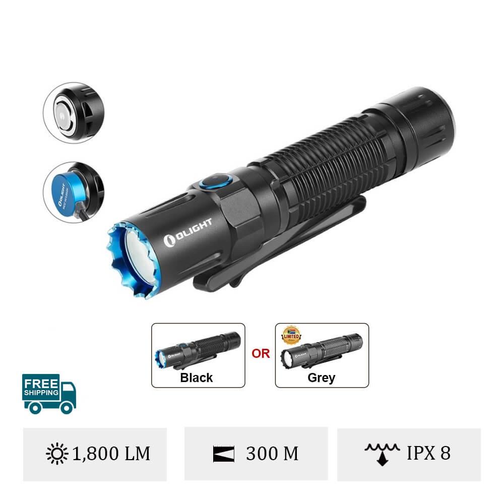 Olight M2R Pro Warrior Military Flashlight
