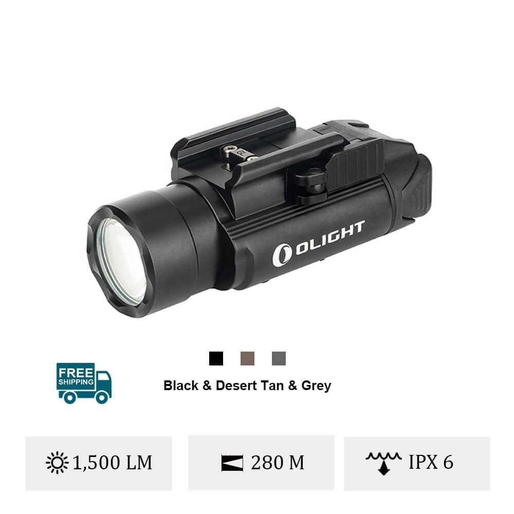 Olight PL-Pro Valkyrie 1500 Lumens Powerful Rechargeable Light