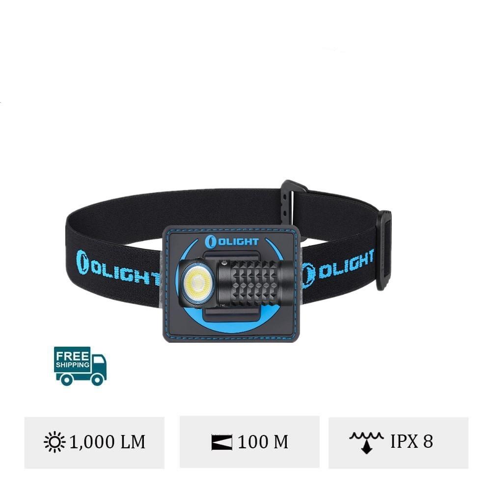 Olight Perun Mini Kit smallest headlamp with 1000 lumens