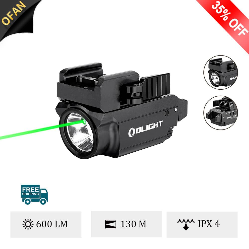 OlightBaldrMiniSmallest Green Laser 600-lumen Light