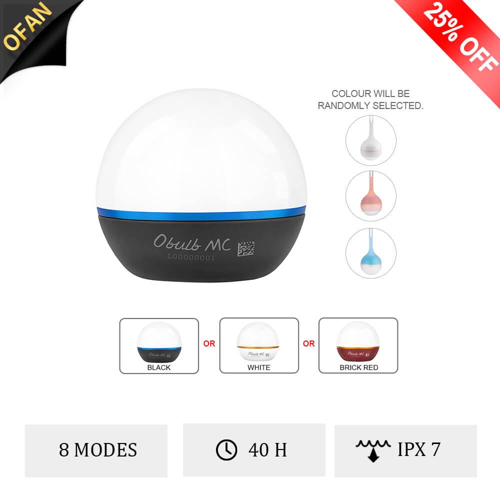 Olight Obulb MC Multi-Color Bulb Light