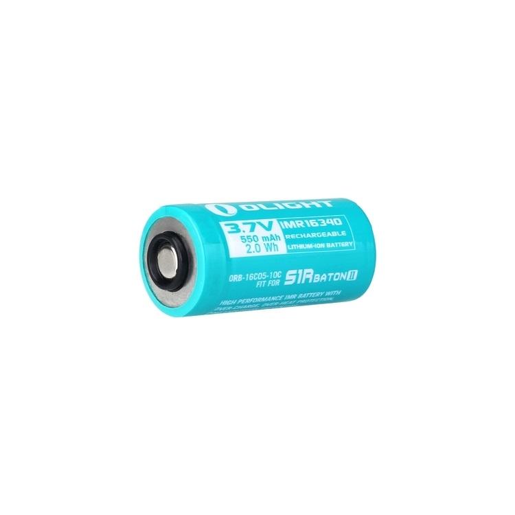 S1R Baton II/Perun Mini Battery 550mAh IMR16340